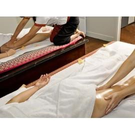 Duo : Massage thaï aux huiles essentielles - 1 heure