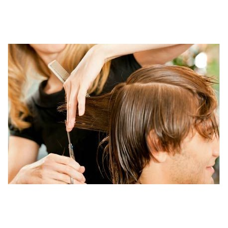 Relooking visage et coiffure Homme (coupe incluse) - jusqu'à 2 heures