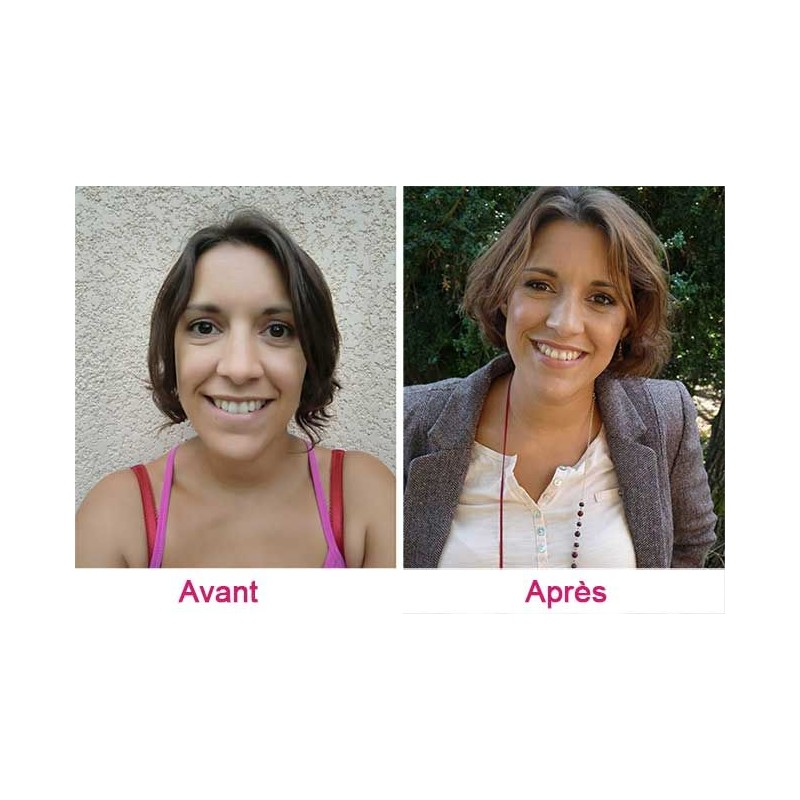 Promo 20% Relooking visage Toulouse : coiffure, conseils, maquillage