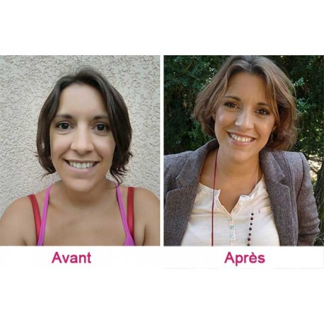 Relooking complet Femme + coupe incluse (shampoing + couleur) - 2 journées