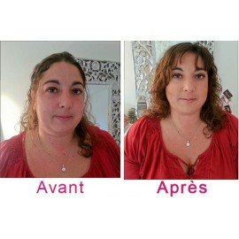 Relooking visage : coiffure + coupe incluse + maquillage + séance photo - 1 heure 30
