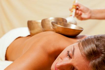 Massage tibétain aux bols