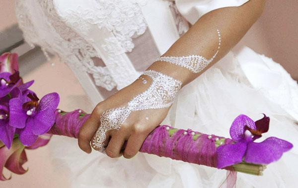 Tatouage poudre diamant