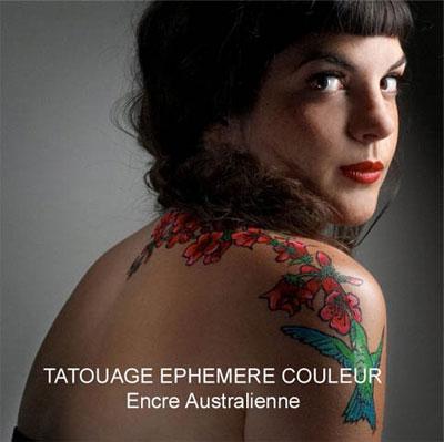 Tatouage encre australienne Paris