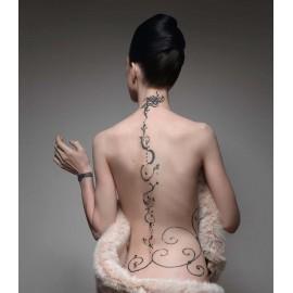 Tatouage Artistique Définitif à l'Encre - Moyen Modèle - Modèle 9x9 cm - Canal St Martin - Paris 10