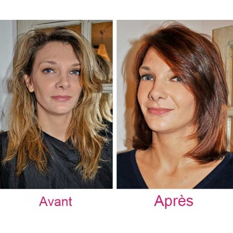 Analyse morphologique visage + shampoing + coupe + brushing (cheveux longs)