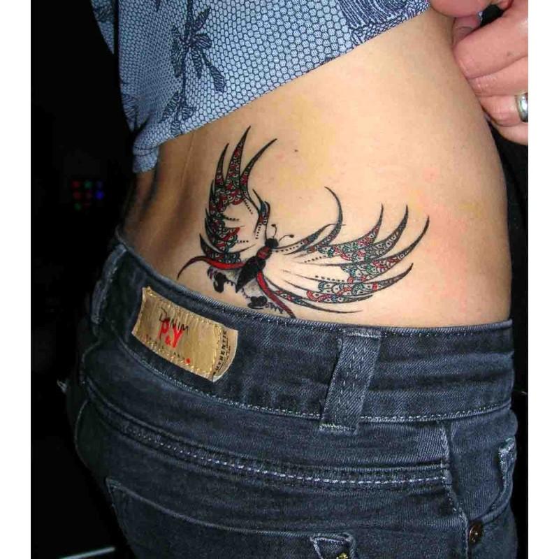 tatouage temporaire à l'encre australienne à paris 10 ephémère