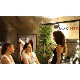Cours d'auto-maquillage pour deux + shooting photo à deux - 1 heure 30