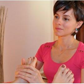 Réfléxologie plantaire + massage du dos - 1 heures 15