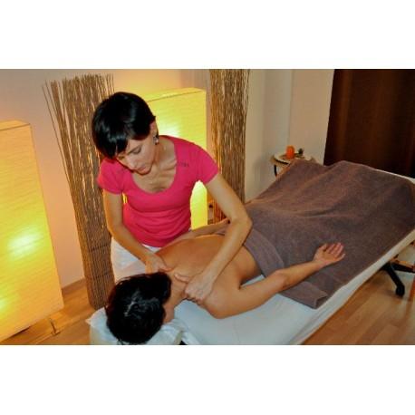 Massage suédois - 5 séances - 1 heure 15/séance