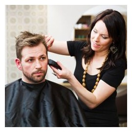 Relooking coiffure Homme + coupe incluse - 3 heures minimum