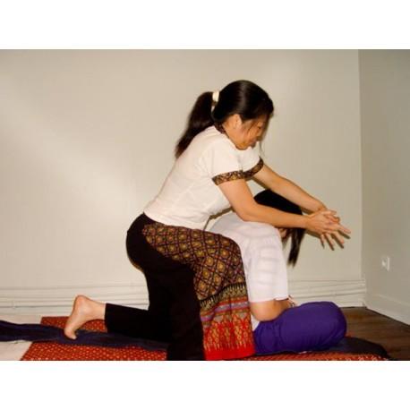 Massage thaï traditionnel - 1 heure 30